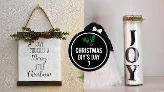 Dollar Tree Christmas Decor - Christmas DIY's Day 7