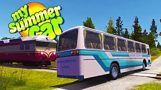 WE CAN DRIVE THE BUS! Also Put a Lift Kit On The Van! - My Summer Car Gameplay Highlights Ep 64