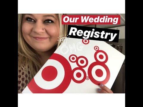 Wedding Registry + Tips |Target And Walmart|