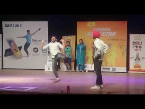 "Winning Bhangra performance during the event""Campus Rockstar""organised by Radio Mirchi..."