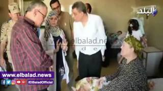 جولة «دسمة» في أول أيام عمل محافظ المنيا الجديد.. فيديو وصور