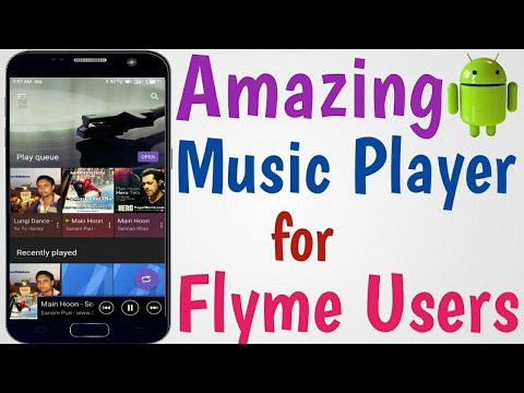 Change Your Boring Flyme Music Player With This New Player! No Root!