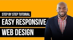 Responsive web design tutorial with Divi