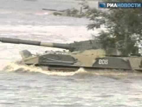Xe bọc thép BMD-4M 13.5tấn của Nga tham gia nhảy dù - Bee