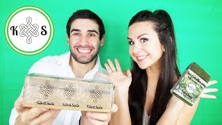 KILTED SUDS UNBOXING & REVIEW | NATURAL BATH & BODY PRODUCTS | ASHLEY GAITA