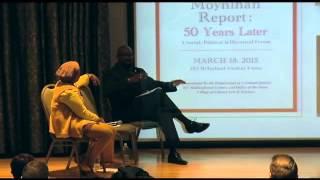 Kutztown University, The Commission on the Status of Minorities, The Moynihan Report, Panel 2