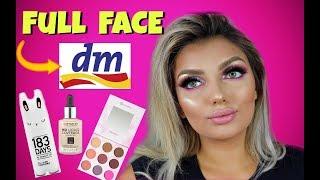 FULL FACE nur mit DM Produkten!!  - NEU in der Drogerie  - Review I Nadjma