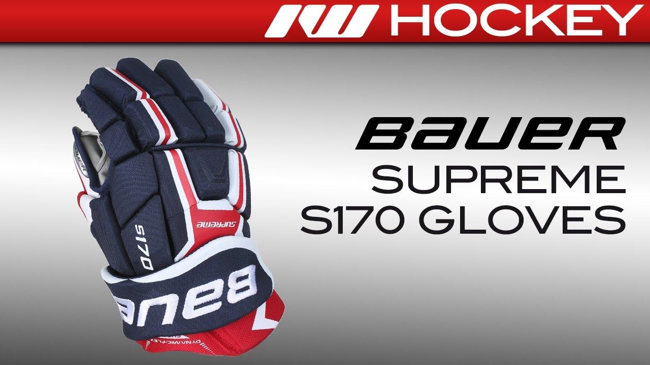 Bauer Supreme S170 Glove Review