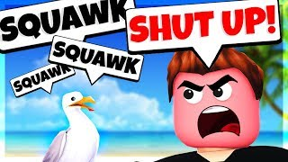 TROLLING PLAYERS in ROBLOX as a SEAGULL???