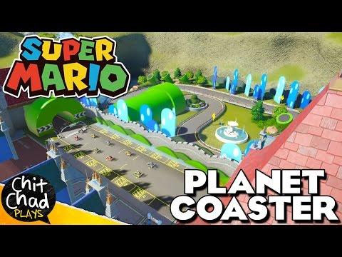 Super Mario Land PART 3: Video Game Park   Planet Coaster