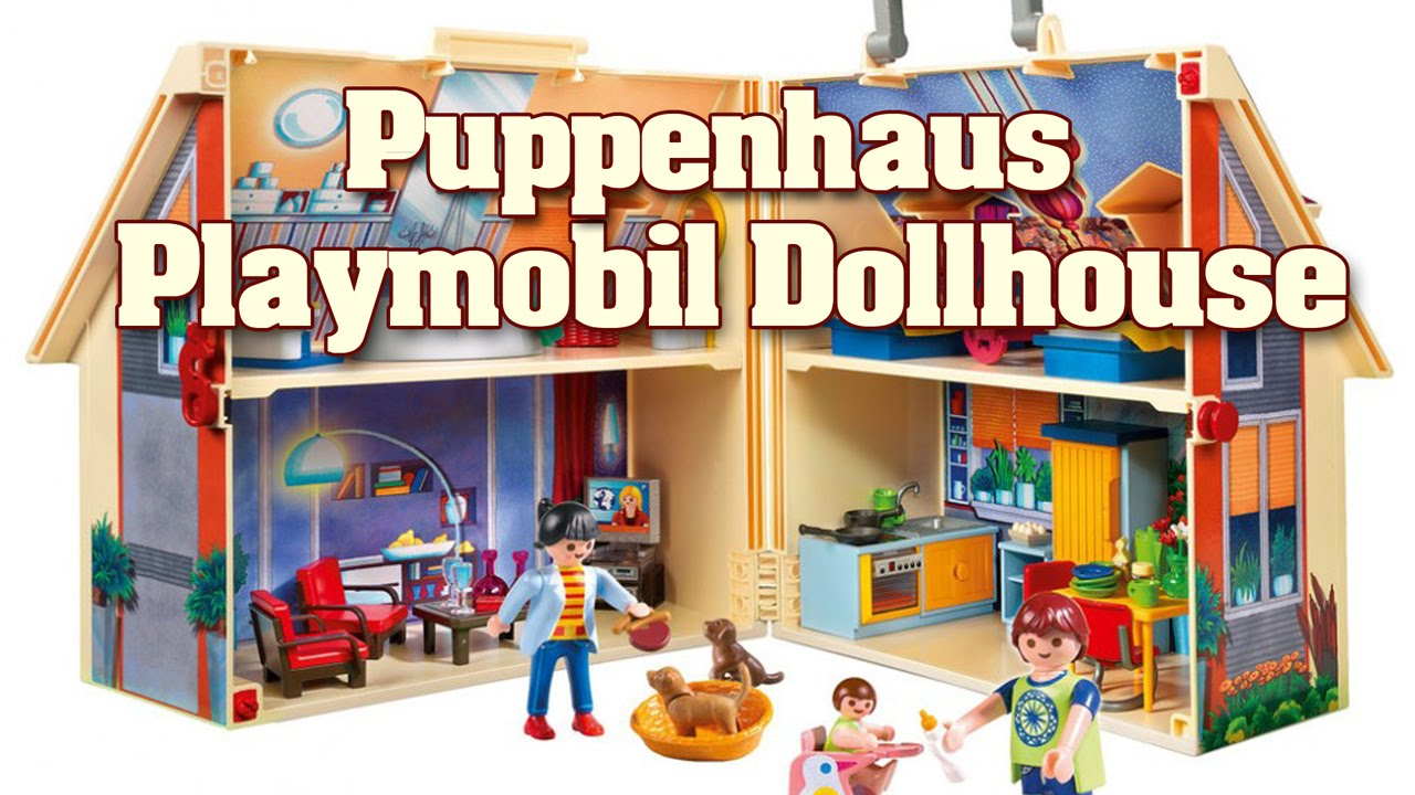 Playmobil Puppenhaus Playmobil Modern Dollhouse Playmobil Puppenhaus Animation
