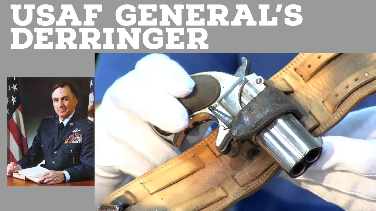 USAF Gen's Remington Double Derringer