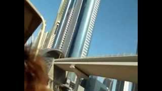 Дубай.Пляж.Отель Парус.Ски Дубай(Пляж Мамзар,в метро,отель Мадинат Джумейра,отель Бурж Аль Араб,Ски Дубай,на автобусе., 2012-11-02T10:41:45.000Z)