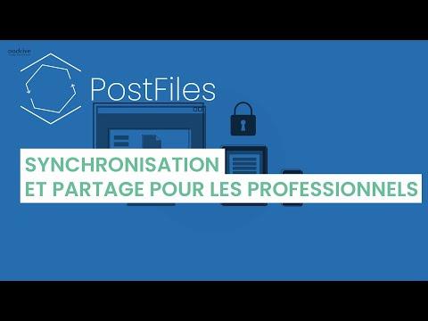 Découvrez PostFiles - synchronisation et partage pour les professionnels