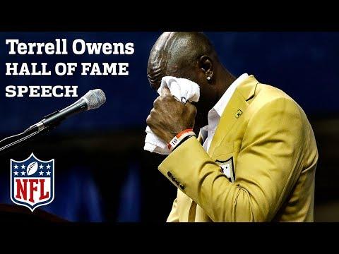 Best of Terrell Owens' Hall of Fame Speech | NFL