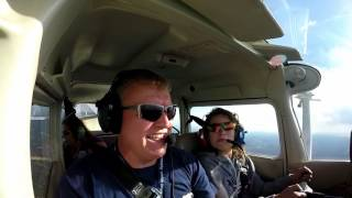 KFRG to KDXR in the Cessna 172 - Julianna's first 'official' flight lesson