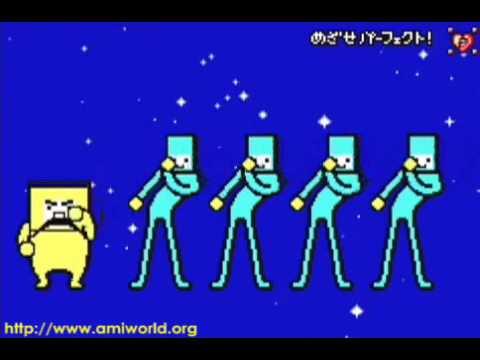 Rhythm Tengoku Perfect Play : Stage 3-5 - Space Dance