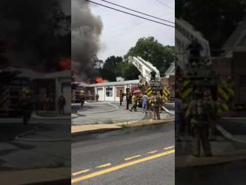 Mt  Airy MD Two-Alarm Fire Videos - Firefighter Nation