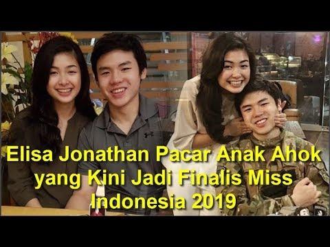 Elisa Jonathan Pacar Anak Ahok yang Kini Jadi Finalis Miss Indonesia 2019