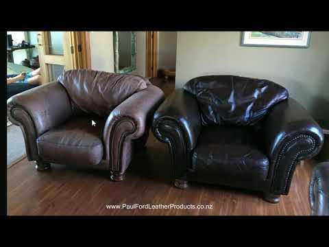 DIY Furniture Leather Restoration Examples 1 - NZ