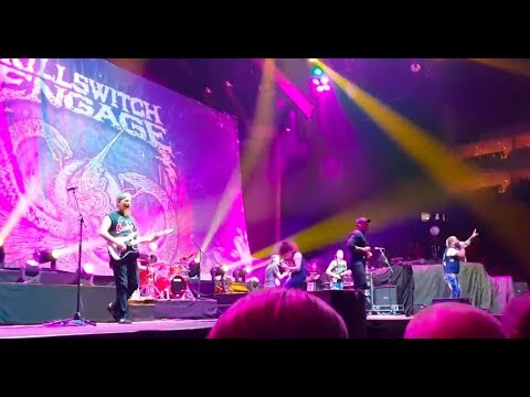 """Killswitch Engage have Howard Jones join them Aug 10th in London """"The End Of Heartache"""""""