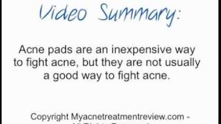 Acne Pads - How Well Do They Really Work