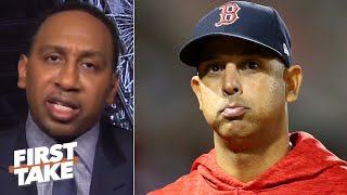 Stephen A.: Alex Cora should be ashamed of himself! | First Take