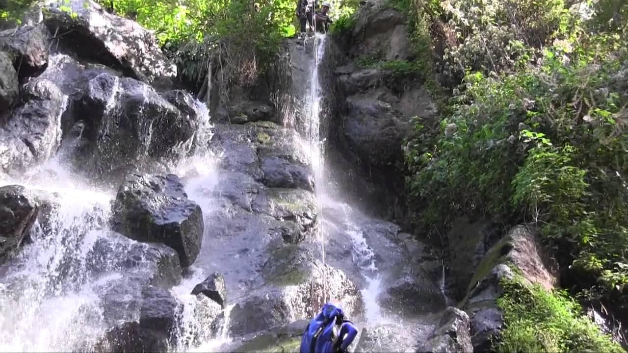 Rapel En Cascada Velo De Novia Valle De Bravo Estado De