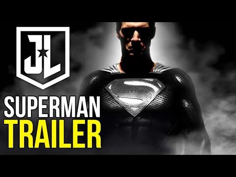 Zack Snyder's Justice League   BLACK SUPERMAN TRAILER!