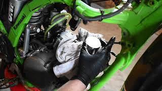 Kawasaki Kx125 top end rebuild (part 2)