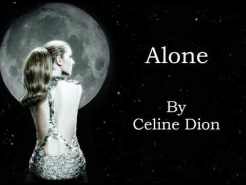 Celine Dion - Alone (Audio with Lyrics)