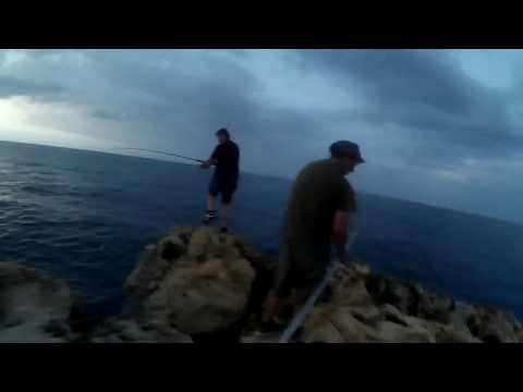 shore jigging 17 07 2017