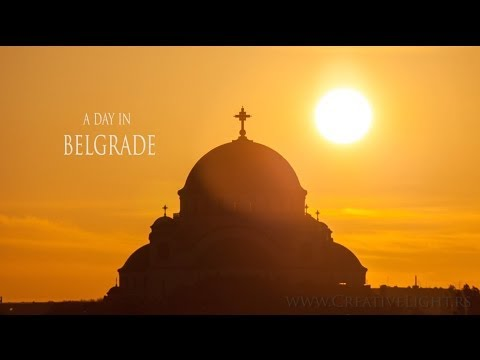 A day in Belgrade - Motion Time-lapse