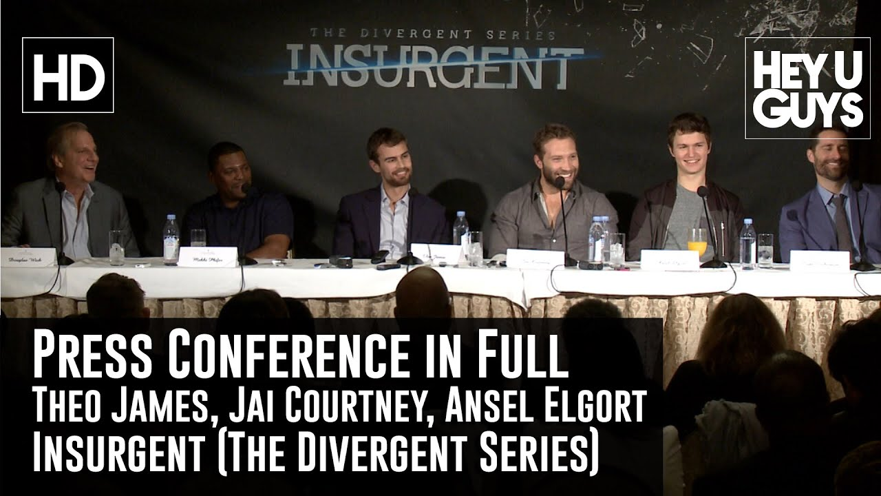 insurgent divergent press conference in full theo