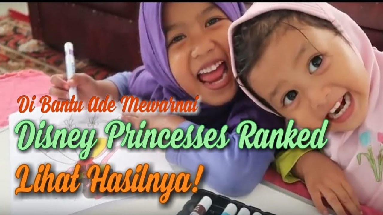 Mewarnai Gambar Disney Princesses Ranked Youtube