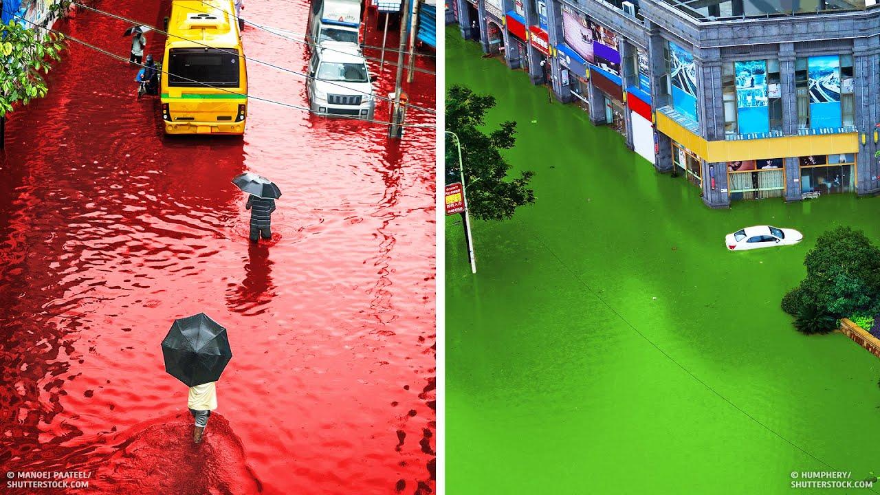 14 самых необычных дождей, которые когда либо выпадали на Земле