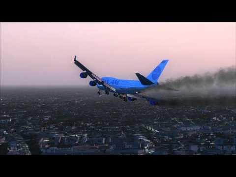 PAN AM 747 Crash Landing Bangkok