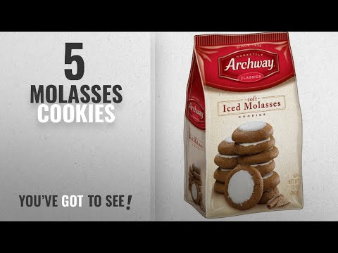 Best Molasses Cookies [2018]: Archway Iced Molasses Cookies, 12 Ounce