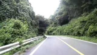 【車載】茨城県道42号笠間つくば線道祖神峠登り(八郷側より)