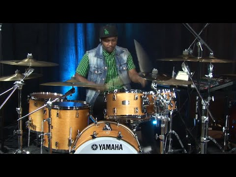 Teddy Campbell plays Yamaha Drums