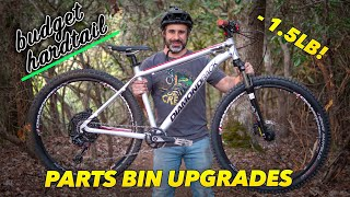 We gave my neighbor's hardtail a parts bin overhaul!