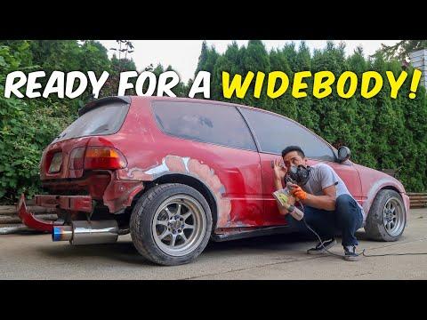 BRINGING BACK BONDO BOOTY! - DIY Rust Repair pt.2