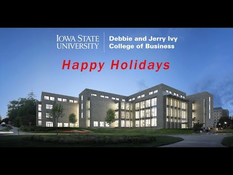 Ivy College of Business Holiday Video 2018