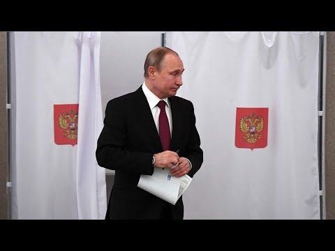 Incumbent Vladimir Putin