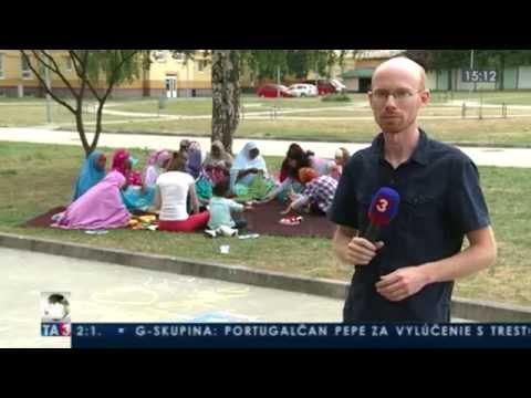 World Refugee Day in ETC Humenne, Slovakia (2014, Slovak language, English subtitles)