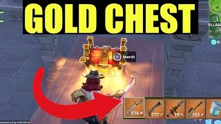 Comment obtenir Secret LEGENDARY CHEST dans FORTNITE (GOLD LOOT EVERY TIME)