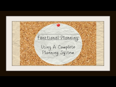Functional Planning: Using A Complete Planning System