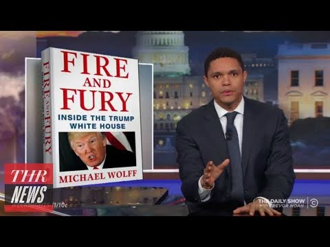 Late-Night Hosts Respond to Trump Tell-All Book 'Fire and Fury'   THR News