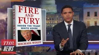 connectYoutube - Late-Night Hosts Respond to Trump Tell-All Book 'Fire and Fury' | THR News