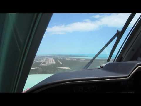 Provo Landing in a Mitsubishi MU-2